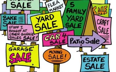 Garage and Yard Sale