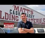 Matt's Building Materials - Young Retailer of The Year